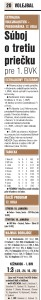 denník šport 16.1.2017- súboj o tretiu priečku