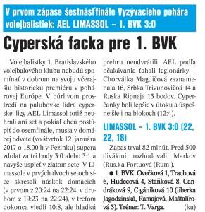 16.12.2016 - denník šport po limassole
