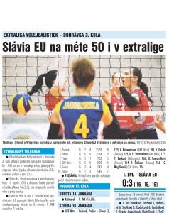 denník šport 23.12.2016 - po slávii